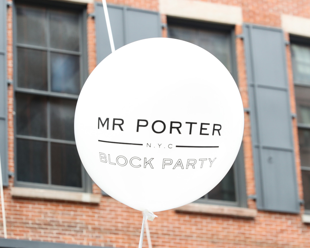 MR PORTER Hosts: Block Party with Saturdays NYC, Miansai, Jean Shop and Fellow Barber